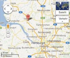 Google Maps : Ferienwohnung Wilde (Itzehoe)
